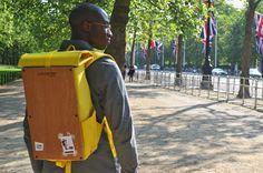 Goodstart Jones   Woodsack Backpack XL Yellow
