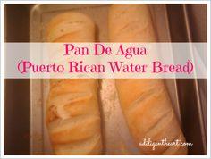 """Pan De Agua, """"Puerto Rican Water Bread"""" Delicious With Butter Puerto Rican Cuisine, Puerto Rican Dishes, Puerto Rican Recipes, Comida Boricua, Boricua Recipes, Spanish Dishes, Spanish Food, Spanish Desserts, Spanish Recipes"""