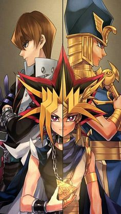 yugioh Yu-Gi-Oh ~officially the first anime I watched. The very anime that got me into anime. It's been a while since I've seen it, so I don't remember a lot of it. But I liked it ~