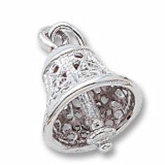 Hoppe Jewelers - SS FILIGREE BELL CHARM, $37.5 (http://www.hoppejewelers.com/ss-filigree-bell-charm/)