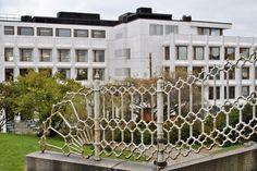 Enson pääkonttori, Alvar Aalto 1962. Enso-Gutzeit Headquarters #arkkitehtuuri #architecture #Helsinki #AlvarAalto #moderni #modern