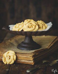 Galletas Rosas de calabaza - Kanela y Limón