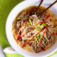 Homemade Pho can be made with any protein (or not) that you desire!