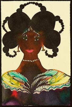 Chris Ofili - Untitled Afromuse