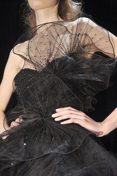 black couture. ZsaZsa Bellagio