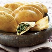 Palestinian Spinach Pies Recipe
