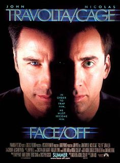 Great/bizarre concept executed in a way that wasn't too ridiculous. Liked how both of the leads got to play the good & the bad guy. John Travolta was pretty freaky as the villain for the majority of this film also.