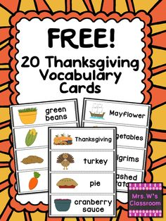 Arts and crafts for kindergarten Thanksgiving Thanksgiving Words, Thanksgiving Preschool, Thanksgiving Appetizers, Thanksgiving Outfit, Thanksgiving Table, Thanksgiving Decorations, Thanksgiving Recipes, Speech Activities, Language Activities