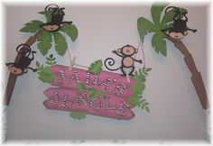 Jungle themed party with lots of monkeys!    Brooke these kinds of monkeys kinda