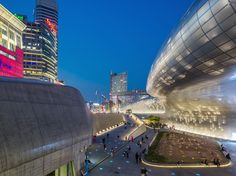 The neofuturist Dongdaemun Design Plaza is a centerpiece in a city increasingly known for its style.