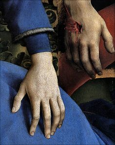 Rogier Van Der Weyden, The Descent from the Cross (detail), 1432·1435