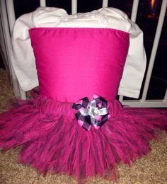 Printed pink and black Zebra tutu outfit.  on Etsy, $40.00