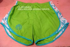 Personalized Running Shorts by preppypapergirl on Etsy, $34.00