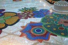 Encore At Wynn  Las Vegas: Mosaic Floor at Wynn Las Vegas