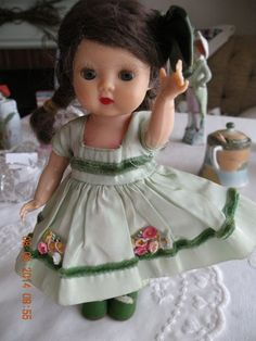 VINTAGE STRUNG EARLY MUFFIE DOLL, STORY BOOK DOLLS CALIFORNIA!!!!!!!, 1953!!!!!! #Dolls
