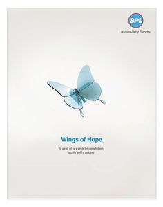 This was another teaser ad designed for BPL Medical Technologies Private Limited.