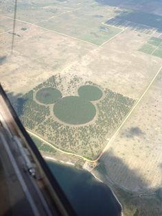 I found this about 20 miles west of Orlando on a flight today - Imgur