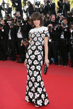 Blood Ties Premiere - Milla Jovovich in Chanel Couture. Cannes 2013.