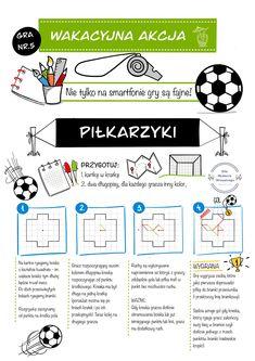 #summer #wakacje #beznudy #dziecko #playwithkids #kidsactivities #kidsactivitieshome Paper Games, Pencil And Paper, School Ideas, Map, Paper, Location Map, Maps