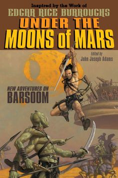 anthology of new john carter stories, inspired by edgar rice burroughs