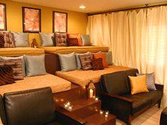 Dream basement home theater.