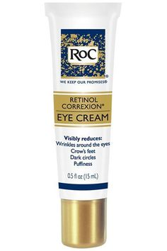 ROC Retinol eye cream - The 50 Best Anti-Aging Products Of All Time - HarpersBAZAAR.com