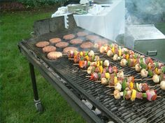 How to Decorate Your Yard for a Summer Barbecue thumbnail. Now this is my idea of a BBQ for a party!