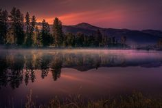MOUNTAIN LAKE by Raul Weisser - Photo 175383539 / 500px