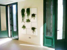 Punto de decoración de Serastone con jardines verticales. Para más info: http://www.serastone.com/actualidad/jardin-vertical-serastone/