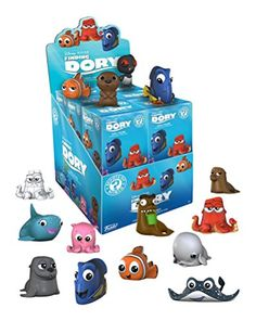 Buy Finding Dory - Mystery Minis Vinyl Figure (Blind Box) at Mighty Ape NZ. Disney-Pixar continues the tale of Finding Nemo with Finding Dory! Your favourite characters ofFinding Dory get the miniature treatment! Funko Mystery Minis, Disney Finding Dory, Finding Nemo, Heros Disney, Disney Pixar, Disney High, Heros Film, Dory Characters, Iconic Characters