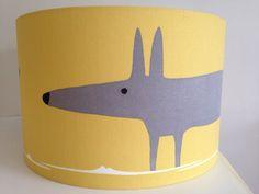 Mr Fox Scion Fabric Handmade Lampshade in by jollyrobinsinteriors