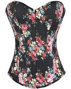 Floral Corset Bustier     Tag a friend who would love this!     FAST, FREE Shipping Worldwide     Buy one here---> http://intimatesecrets.de/hot-selling-overbust-corsets-boned-bustiers-floral-print-women-sexy-lingerie-twin-set-5-colors-s-xxl/    #intimatesecrets #intimateapparel #lingerie