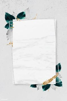 Rectangle silver frame with foliage on marble texture background vector Gold Wallpaper Background, Framed Wallpaper, Cute Wallpaper Backgrounds, Flower Backgrounds, Flower Wallpaper, Background Patterns, Textured Background, Pink Glitter Background, Background Pictures