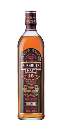 Bushmills 16 Year Old, Old Bushmills Distillery - Flaviar
