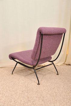 Gastone Rinaldi; Slipper Chair for Rima, 1950s.