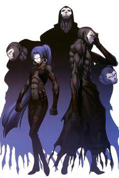 Fate/Zero: Hassan-I Sabbah, the Assassin. Fate Zero, Manga Anime, Anime Art, Fate Characters, Fantasy Characters, Fate Assassin, Fate Stay Night Assassin, Kon Bleach, Type Moon Anime
