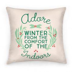Adore Winter Pillow