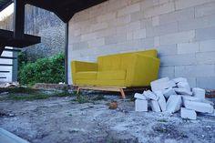 Jadikan weekend kamu lebih ceria.  .  In Frame : Crixus Sofa