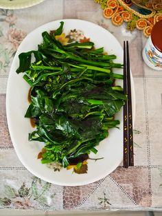 Wie man chinesisches Gemüse kocht