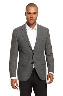Great blazer to put with jeans and a black skinny tie.