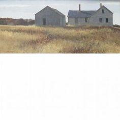 hale johnson artist   Hale Johnson - House And Barn