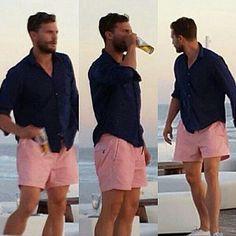 Jamie Dornan in Spain