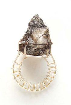 modern art jewelry - rings - Galerie MARZEE
