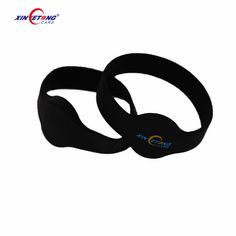 Access Control Cards Clever 13.56mhz Mf Classic 1k S50 F08 Nfc Tags Iso14443a Silicone Nfc Wristband Bracelet For Swimming Pool Sauna Room Gym Durable In Use