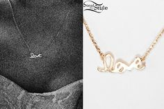 Ariana Grande: Love Necklace | Steal Her Style