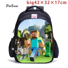 MineCraft Backpack for Teenagers with multiple designs. Toddler BackpackBackpack  BagsBoys BackpacksSchool ... baa409a3f6