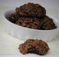 I can always use more zuchinni recipes: The Farm Girl Recipes: Chocolate Zuchinni Cookies