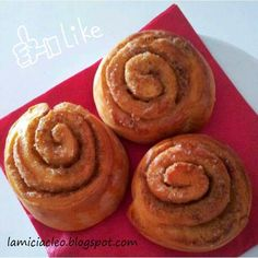 La micia Cleo: Cinnamon rolls - girelle con zucchero di canna e c...
