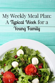 How does a family of five get healthy meals on the table each night? With this easy weekly meal plan!