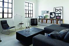 Grafisk hjem - Hjemme hos Vipp-designeren - Bo-Bedre.no